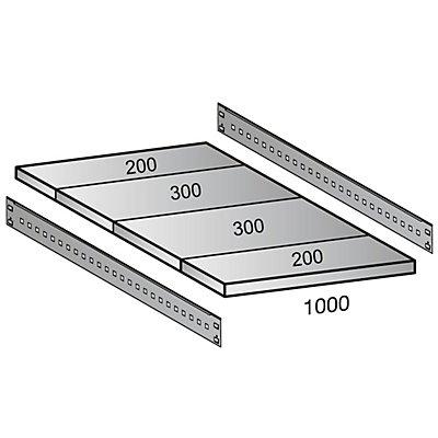Scholz Fachboden für Cleana-Steckregal - Bodenbreite 1000 mm