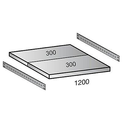 Scholz Fachboden für Cleana-Steckregal - Bodenbreite 1200 mm