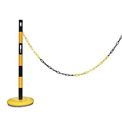 VISO Absperrpfosten-Anbauset - mit 1 Pfosten, 2,5 m Kette