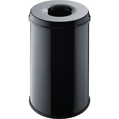 helit Sicherheits-Abfallbehälter - Volumen 30 l, VE 2 Stk
