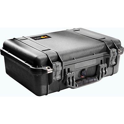 PELI Schutzkoffer aus PP - Inhalt 19,4 l, LxBxH 470 x 357 x 176 mm - mit Trennwänden