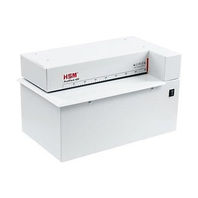HSM Karton-Perforator, Arbeitsbreite 415 mm, Füllhöhe 10 mm