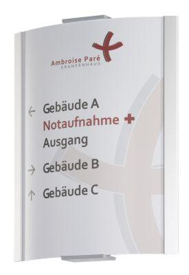 FRANKFURT™ Wegweiser - DIN A4, hoch, HxB 297 x 230 mm, Gewicht 0,99 kg