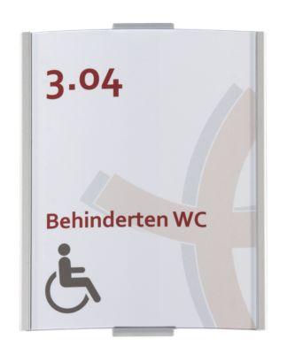 FRANKFURT™ Türschild, Höhe 148 mm - Breite 120 mm, DIN A6, Gewicht 0,14 kg