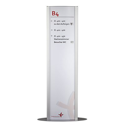 FRANKFURT™ Innenaufsteller - HxB 1800 x 500 mm, HxB 1800 x 420 mm