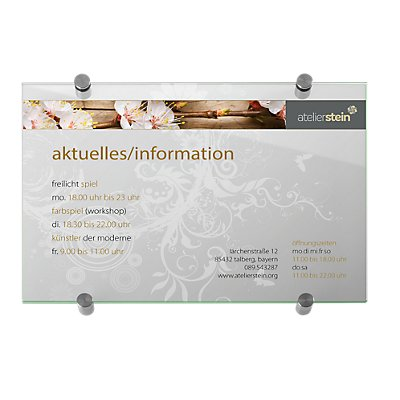 GALERIE select™ Wegweiser - DIN A3, HxB 420 x 297 mm, Stück