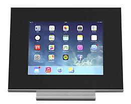 GO-TO™ Tablet-Tischaufsteller - Front- und Rückseite schwarz