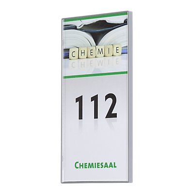 Moedel KAIRO™ Türschild, Breite 149,5 mm - Höhe 74,75 mm, VE 3 Stk, HxB 72,75 x 147,5 mm