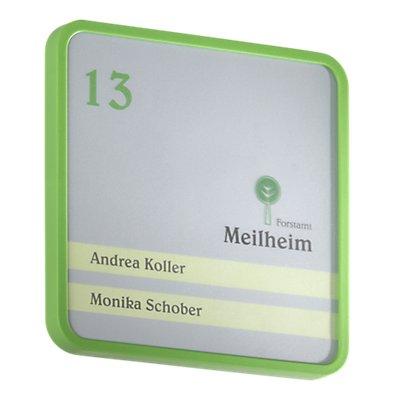 Moedel MAXI™ Türschild - HxB 150 x 150 mm, VE 3 Stk, 2-teilig