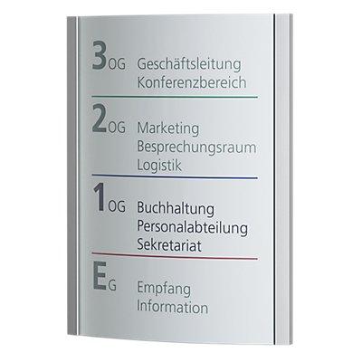 Moedel ORLANDO™ Wegweiser - DIN A3 hoch, HxB 420 x 320 mm, Gewicht 1,82 kg