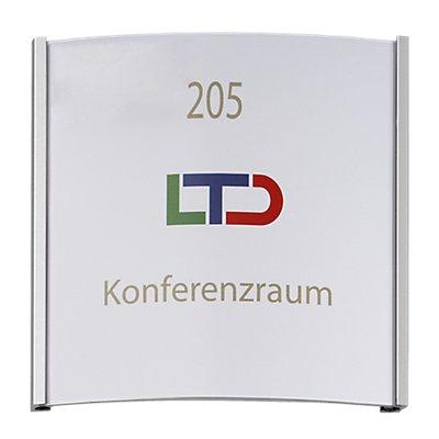 Moedel ORLANDO™ Türschild - HxB 148 x 148 mm, Gewicht 0,22 kg