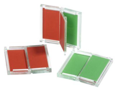Universelle Frei-/Belegt-Anzeige - HxB 46 x 46 mm, rot und grün