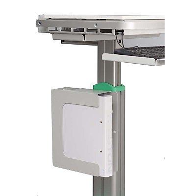 Treston Aktenordnerhalter - für mobile Arbeitsstationen, für 3 Ordner je 75 mm Breite