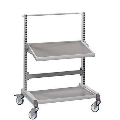 Treston Multiwagen, ergonomisch - 2 Etagen
