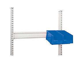 Treston Aufhängeleiste, ESD - pulverbeschichtet, lichtgrau, BxT 742 x 100 mm