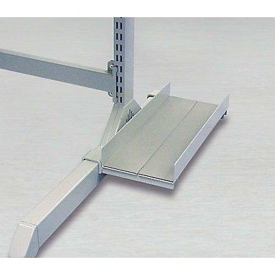 Treston PC-Halter - für Fußelement, lichtgrau