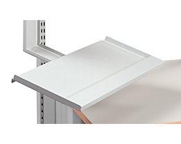 Treston Tastaturablage - für LCD-Monitorhalter, lichtgrau