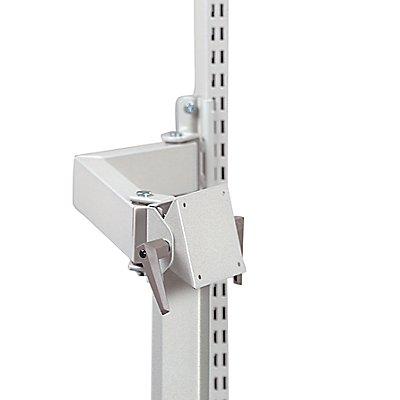Treston TFT-Monitorhalter - mit Schwenkarm, lichtgrau