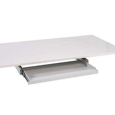 Treston Tastaturablage - für Tisch, lichtgrau