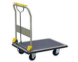 PRESTAR Plattformwagen, mit Totmannbremse - Tragfähigkeit 300 kg