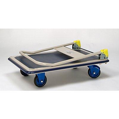 PRESTAR Plattformwagen - mit klappbarem Schiebebügel