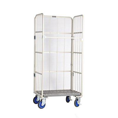 PRESTAR Rollbehälter, Tragfähigkeit 500 kg - Höhe 1700 mm