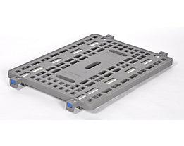 PRESTAR Zwischenboden, Tragfähigkeit 100 kg - LxB 800 x 600 mm, Kunststoff