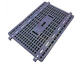 PRESTAR Zwischenboden, Tragfähigkeit 100 kg - LxB 1100 x 800 mm, Kunststoff
