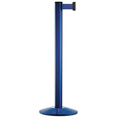 VIAGUIDE Gurtpfosten - Aluminium, blau