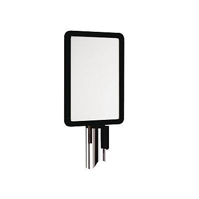 VIAGUIDE Schilderhalter für Gurtabsperrsystem - für Bandauszug 3700 mm, DIN A4