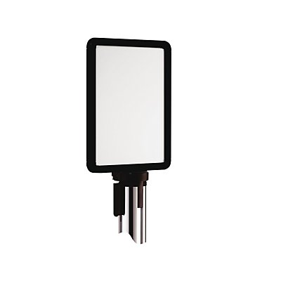 VIAGUIDE Schilderhalter für Gurtabsperrsystem - für Bandauszug 2300 mm, DIN A4