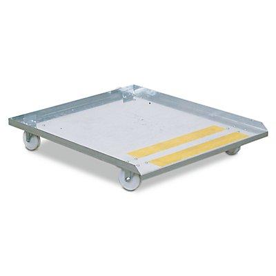 Rollwagen - für BIO-Reinigungstische KOMFORT und DUO - LxB 1600 x 1050 mm