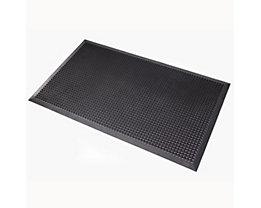 Schmutzfangmatte, 599B Oct-O-Flex Bevelled™ - schwarz