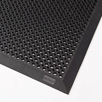 Notrax Schmutzfangmatte, 599B Oct-O-Flex Bevelled™ - schwarz