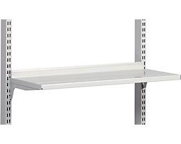 Regalboden, ESD - lichtgrau, für Tischtiefe 750 mm