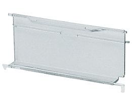 Visière rabattable - en polycarbonate - pour capacité 2,7 et 3,5 l, lot de 25