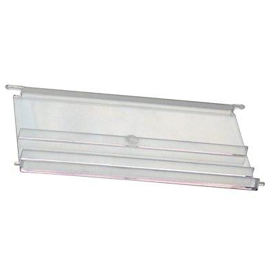Sichtscheibe für Sichtlagerkasten - für Inhalt 60 l, VE 10 Stk - transparent