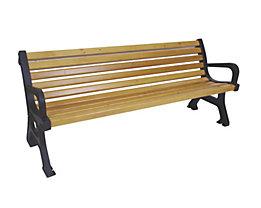 Sitzbank - Länge 2000 mm, Gewicht 52 kg