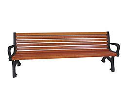 Sitzbank - Länge 2000 mm, Gewicht 64 kg