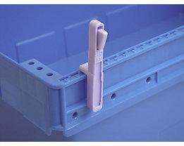 Codierstecker, VE 50 Stk - groß POM, L, violett