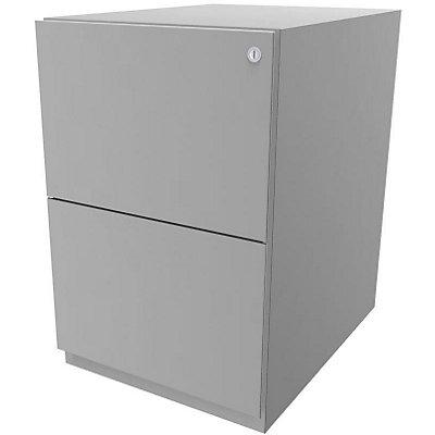 Bisley Rollcontainer Note™ - 2 HR-Schubladen, HxBxT 645x420x565 mm