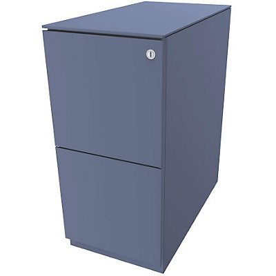 Bisley Rollcontainer Note™ - 7 mm Top, 2 HR-Schubladen, HxBxT 652x300x565 mm