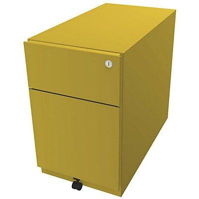 Bisley Rollcontainer Note™ - inkl. 5. Rolle, 1 Universalschublade, 1 HR-Schublade, HxBxT 495x300x565 mm