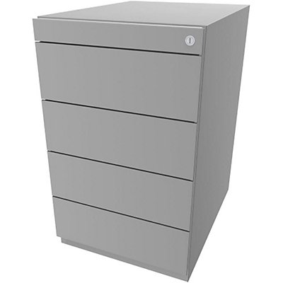 Bisley Standcontainer Note™ - 4 Universalschubladen, Höhenverstellbar 698-731, BxT 420x565 mm