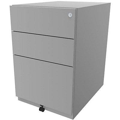 Bisley Rollcontainer Note™ - inkl. 5. Rolle, 2 Universalschubladen, 1 HR-Schublade, HxBxT 645x420x565 mm