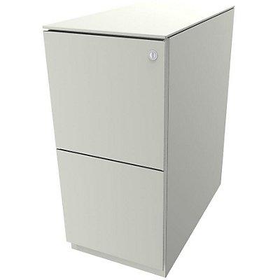 Bisley Rollcontainer Note™ - 7 mm Top, 2 HR-Schubladen, HxBxT 652x300x565 mm