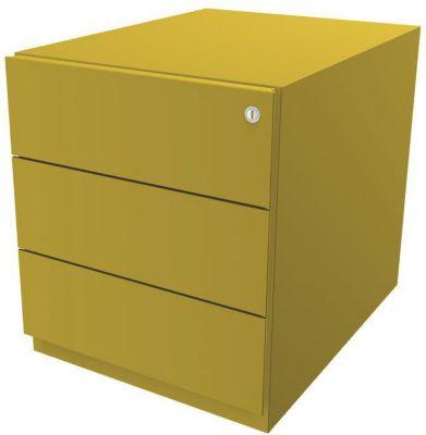BISLEY Rollcontainer Note™, mit 3 Universalschubladen - HxB 495 x 420 mm, ohne Top