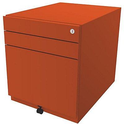 Bisley Rollcontainer Note™ - inkl. 5. Rolle, 2 Universalschubladen, 1 HR-Schublade, HxBxT 565x420x565 mm