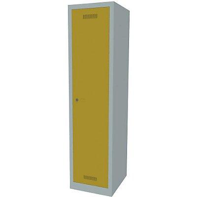 Bisley MonoBloc™ Garderobenschrank - 1 Abteil Breite 400 mm, 1 Fach
