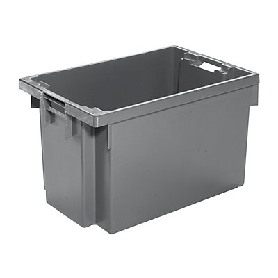 WERIT Drehstapelbehälter aus HDPE - Inhalt 60 l